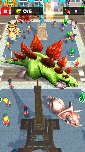 Rampage : Giant Monsters screenshots 5