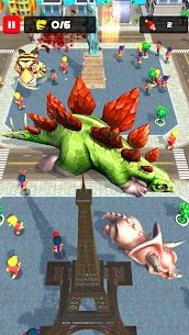 Rampage : Giant Monsters MOD APK 0.1.13 (Free Purchase) 5