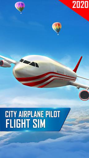 City Flight Airplane Pilot - New Fly Plane Games  Screenshots 1