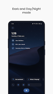 Styles KLWP Screenshot