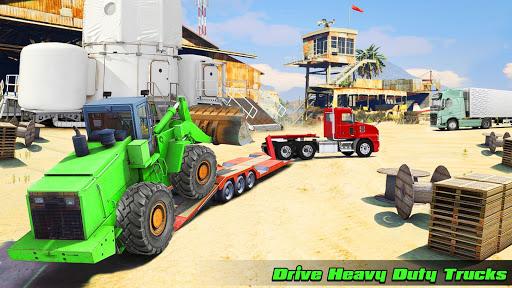Speedy Truck Driver Simulator: Off Road Transport screenshots 2