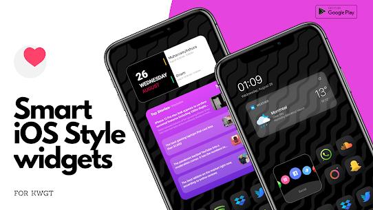 Smart iOS Style widgets (MOD, Paid) v6.1 4