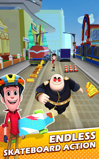 Smaashhing Simmba - Skateboard Rush android2mod screenshots 10