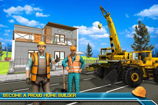 Modern Home Design & House Construction Games 3D  screenshots 3