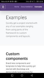 Bootstrap 4 0.1.4 Screenshots 4
