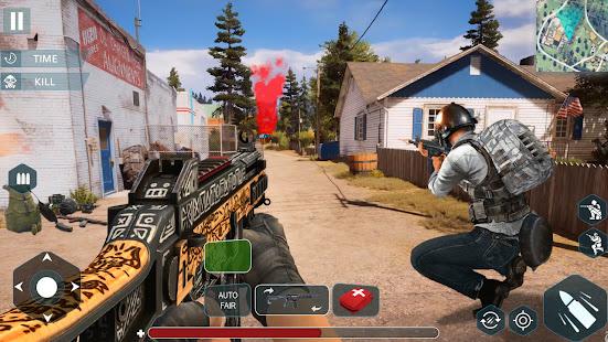 Gun Shoot War: Squad Free Fire 3D Battlegrounds 1.4 Screenshots 3