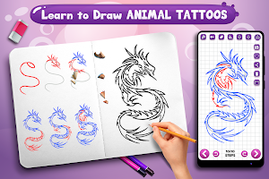 Learn to Draw Animal Tattoos