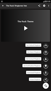 the rock ringtones free The rock ringtone 1.2 Mod + Data for Android 3