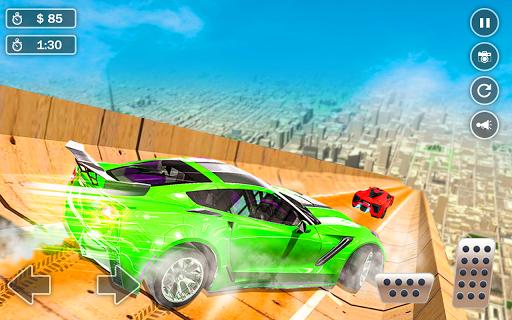 Mega Ramp Car Simulator u2013 Impossible 3D Car Stunts 5.2 Screenshots 10