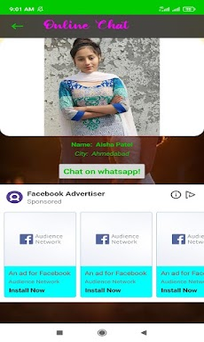 Girls Mobile Number For Video Chatのおすすめ画像1