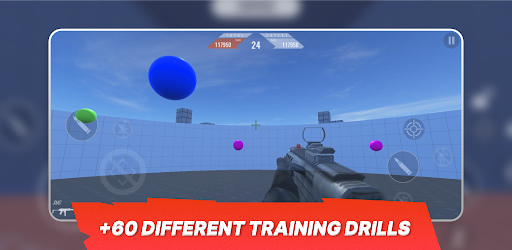 3D Aim Trainer - Shoot Like A Pro Gamer!  screenshots 1
