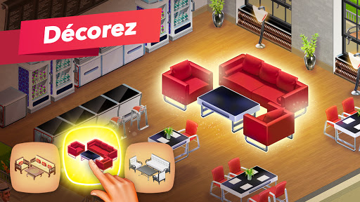 Code Triche My Café — jeu de restaurant (Astuce) APK MOD screenshots 4