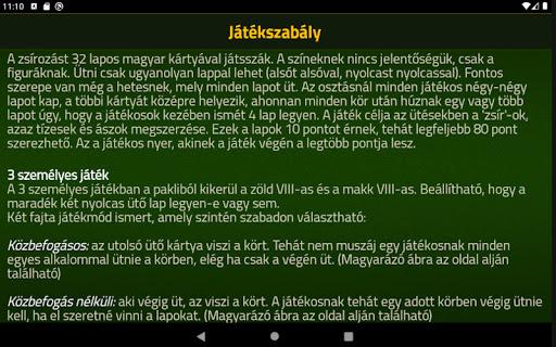 Zsirozas - Fat card game 6.0 screenshots 12
