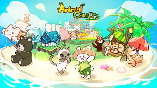 animal camp : healing resort screenshot 1