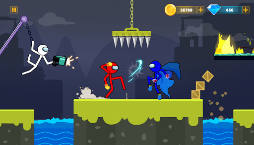 Supreme Stickman Battle: Stick War Fighting Games  screenshots 3