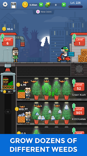 Weed Factory Idle android2mod screenshots 2