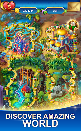 Lost Jewels - Match 3 Puzzle  screenshots 14