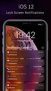 OS12 Lockscreen - Lock screen for iPhone 11