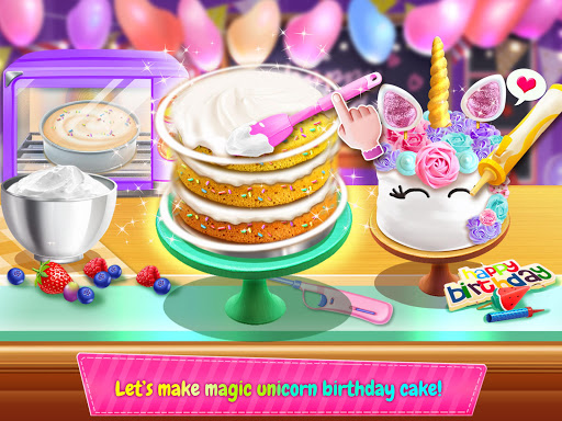 Birthday Cake Design Party - Bake, Decorate & Eat! 1.6 screenshots 4