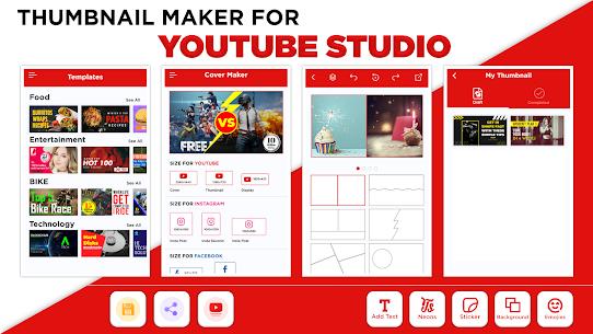 Thumbnail Maker Mod Apk- Create Banners (Premium Unlocked) 7