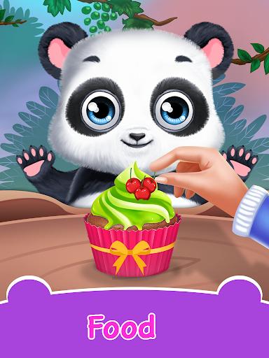 Panda Daycare - Pet Salon & Doctor Game  screenshots 3