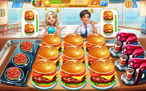 Cooking City: frenzy chef restaurant cooking games  screenshots 17