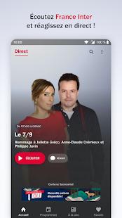 France Inter - radio, podcasts, actu  Screenshots 1
