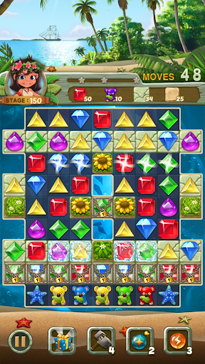 Paradise Jewel: Match 3 Puzzle  screenshots 21