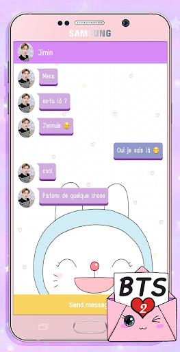 BTS Messenger! Chat Simulator 2 screenshots 4