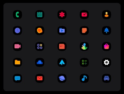 OneUI 3 Black – Icon Pack APK (PAID) Download 1