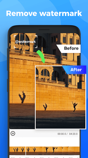 Video  Watermark - remove Watermark & add logo apktram screenshots 1