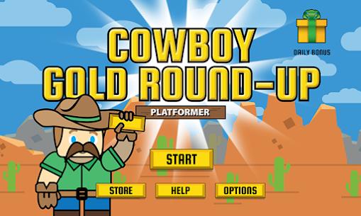Cowboy Gold Round-Up Platformer Free Game Hack & Cheats 1