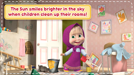 Masha and the Bear: House Cleaning Games for Girls 2.0.0 screenshots 3