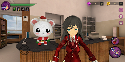 Anime High School Zombie Simulator apkpoly screenshots 10