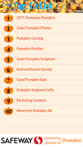 iPumpkin: HMB Pumpkin Festival For PC Windows (7, 8, 10, 10X) & Mac Computer Image Number- 7