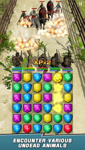VDV MATCH 3 RPG: ZOMBIES! 1.7.008 screenshots 4