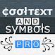PRO Symbols Nicknames Letters