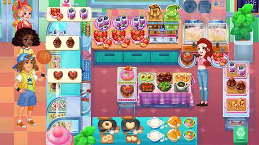 Cooking Life: Crazy Chef's Kitchen Diary apktreat screenshots 1