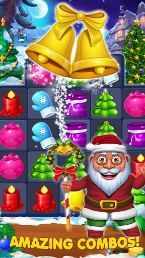 Candy Christmas Match 3 apkpoly screenshots 2