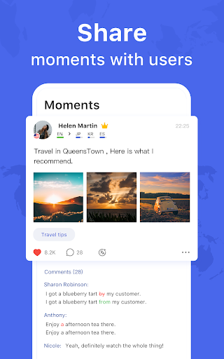 HelloTalk - Chat, Speak & Learn Languages for Free  screenshots 8