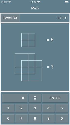 Math Riddles: IQ Test  screenshots 2