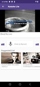 Karaoke Lite : Sing & Record Free MOD APK (Premium) 3