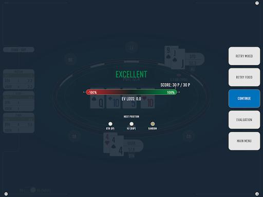 DTO Poker - Your GTO MTT Poker Trainer screenshots 21