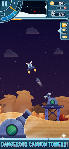 Télécharger Gratuit Planet Rabbit - Space Rocket Rescue Mission apk mod screenshots 4