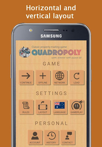 Quadropoly Best AI Board Business Trading Game apkmr screenshots 3