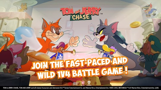 Tom and Jerry: Chase MOD APK (Unlimited Money) Download For Android 1