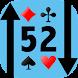 52 High-Low[トランプで簡単暇つぶし] - Androidアプリ