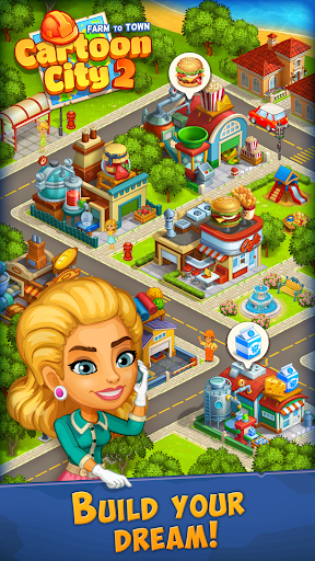 Cartoon City 2:Farm to Town. Build your dream home 2.20 screenshots 9