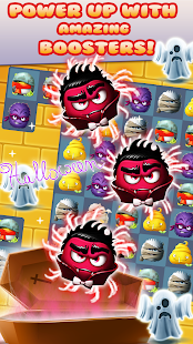 Halloween Monster - Match 3 Puzzle