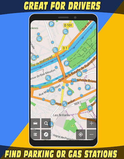 GPS Navigator with Offline Maps 2.6 Screenshots 6